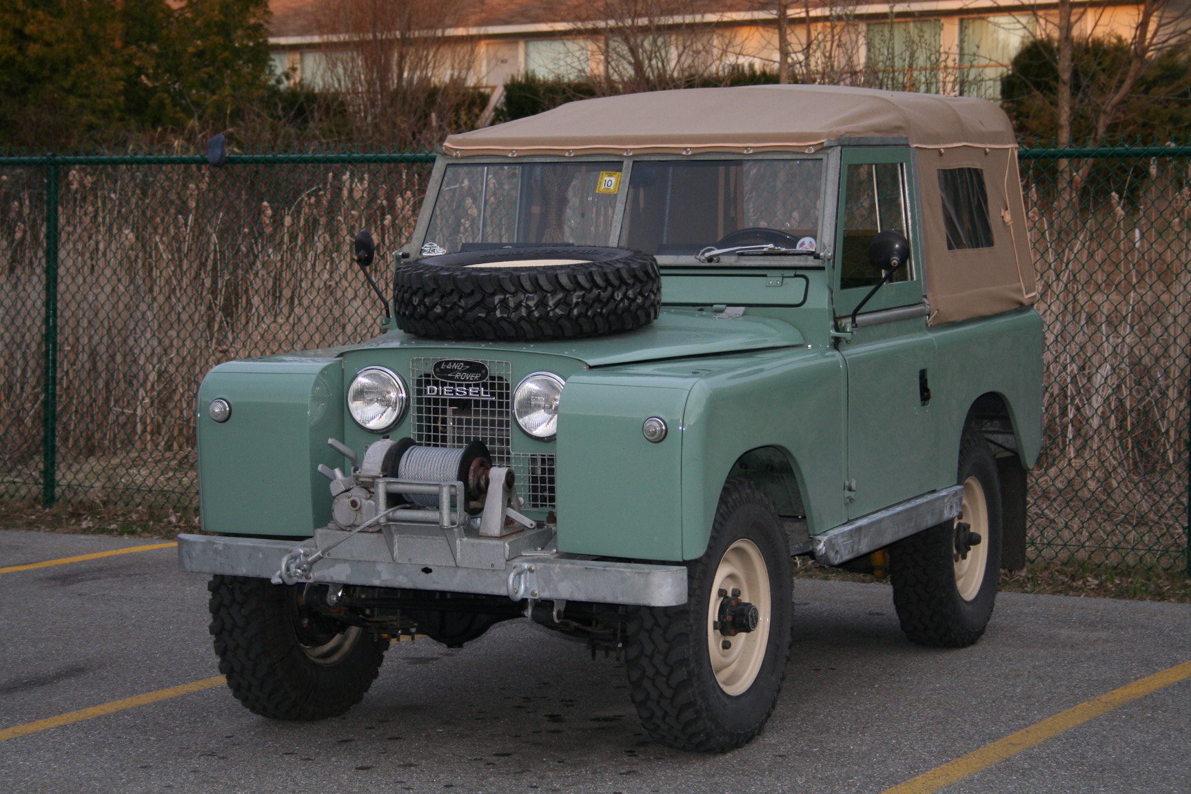 1960 land rover series 2 88 the merc tin shack restoration. Black Bedroom Furniture Sets. Home Design Ideas